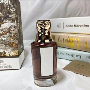 2021 New lady owl shape bottle durable perfume 75ml the Ruthless Deodorant milk EAU