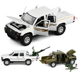 132 TOYOTA HILUX HAEKLAS Car die cast alloy car model edition collectibles cars toy birthday present boy