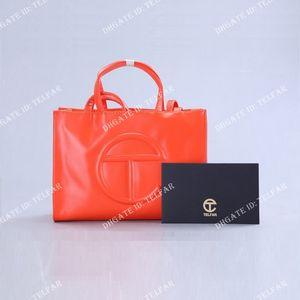 Women Telfar large bags Womens Designer top Purse Tote handbags Fashion Style Luxury bag Pu Leather High Quality handbag wholesale Wallets 008