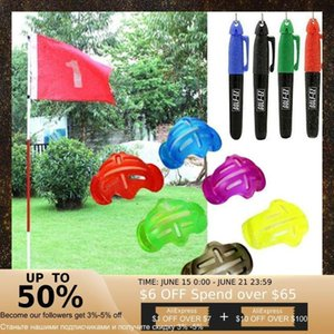 Golf Ball Stencil Template Drawing Putting Line Marker Plastic Accessories Scribe With And Aids Pen Traini M7B9 Training