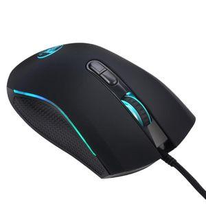 Gaming Mouse Adjustable 3200 DPI Optical Sensor 7 RGB Back Lighting Professional Mice For Computer Laptop