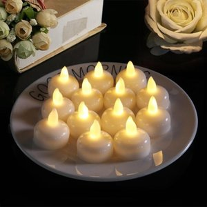 Candles Flameless Christmas Cute Candle Electric Led Wedding Ritual Nordic Fake Lume Di Candela Home Decoration 50LZ