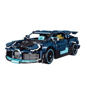 50031 Super Racing Auto High Tech Mechanische Straße Erweiterte Modell Bausteine 879 stücke Ziegelsteine Bildung Spielzeug Geschenk