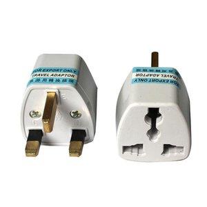 2021 EU US to UK travel plug convertor Universal Travel Power Adapter Plug AC for UK Standard