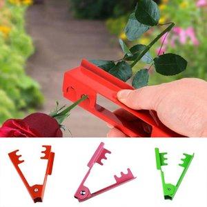 Planters & Pots Rose Plier Removing Burrs Garden Tool Flower Cut Florist Metal Thorn Stem Leaf Stripper Pruning Branches