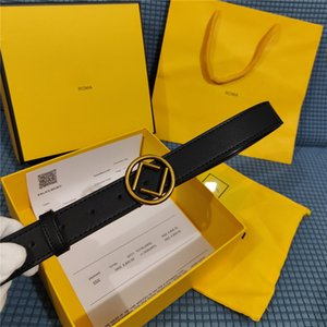 Fashion Big Buckle Genuine Leather Men Designer Belts For Women High Quality Womens Luxury Belt Smooth Waistband Cintura Ceinture 3.0 Width