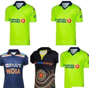 2021 Magliette da cricket Camicie di rugby Jersey Irlanda India Australia Maori Maglia uniforme di alta qualità Camicia Zealanda uniforme