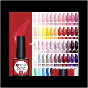 Sugar Glitter Uv Polish Set Nude Color Series Led Varnish Semi Permanent Lacquer Sequins 62 Colors Muexu Izovu