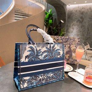2021 designer mochila luxo colorido bordado bordado praia feltro saco dobrável