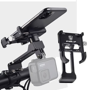 Bicycle Phone Stand Bike Stem Handlebar Mount Cell Phone Holder Universal MTB Road Bike Accessories Cycling Smartphone Clips