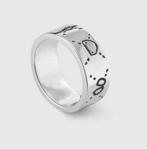 2021 Jewelry Men Women Fashion Luxury Ring Gold Couple S925 High Polished