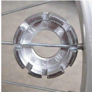 Bicycle Spoke Nipple Wrench 8 Way 10-15G Steel Spoke Nipple Key Groove Bike Wheel Rim Adjuster Spanner Repair Tools 851 Z2