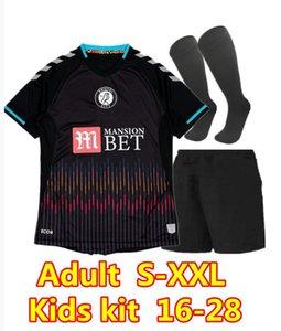 Kits Kids Kits 2021 2022 S-XXL 20 21 مدينة بريستول بعيدا كرة القدم الفانيلة قميص كرة القدم سيلفا أميوبي