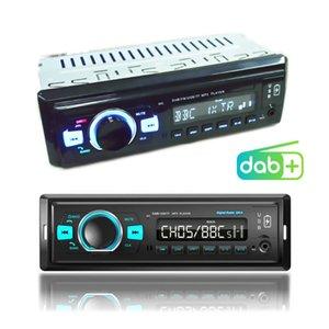 Docooler DR-9 1 DIN DIN CAR راديو ستيريو راديو DAB / DAB + / FM استقبال مشغل MP3 بلوتوث USB TF بطاقة Aux في اللاعبين المزدوج ميناء MP4
