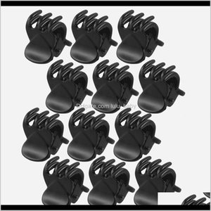 Accessories 12 Pcssets Fashion Crab Claw Girls Black Plastic Mini Hairpin Claws Hair Clip Clamp For Women Gifts Ckngk Pt0Fg
