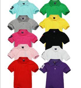 Boys Girl Polo Chemise Été Enfants Courts Sleeve Sleeve Designer T-shirts Vêtements Enfants Broderie Tops Baby Infant Vêtements
