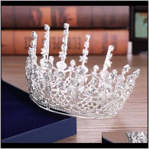 2021 Beautiful Princess Headwear Chic Bridal Accessories Stunning Crystals Pearls Wedding Tiaras And Crowns 12111 O4Lfd Xbwa2