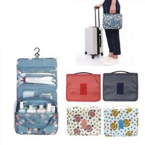 고용량 메이크업 가방 여행 화장품 가방 방수 세면 용품 저장 가방 여행 키트 숙녀 아름다움 주최자