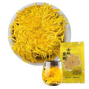 Organic Yellow Chrysanthemum Tea Big Blooming Flower Dry Health Tea
