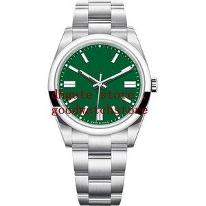 7 Colour version 41mm Mens Watches Silver Yellow Black Blue Green Red Dial Automatic Cal.2813 316L Steel Men 124300 Eta Luminous Watch