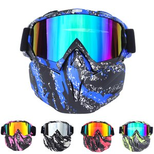 Mask Goggles Harley Retro Helmet Motocross Cycling Helmets Protective Gear Outdoors cyclings Sports Prevent bask in