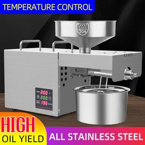 Household Oil Press Stainless Steel Small Intelligent Temperature Control Pressers