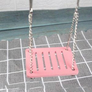 Small Animal Supplies Hamster Toys Swing Hanging Gadget Wooden Cage Accessories Amuse Mouse Toy Drop