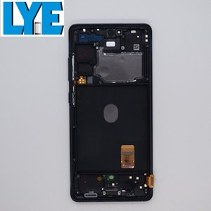 LCD Display For Samsung Galaxy S20 FE 5G OEM AMOLED Screen Touch Panels Digitizer Assembly Replacement With Frame