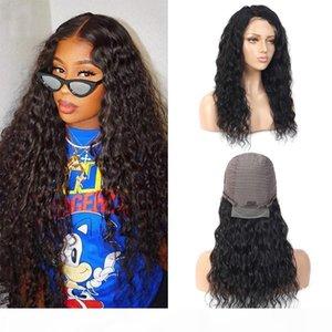 lace front human hair wigs for Black Women Water wave curly hd frontal bob wig brazilian afro short long 30 inch water wig 13*4