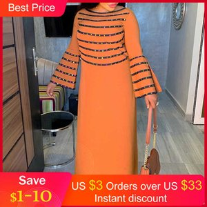 Dresses Plus Herfst Mouwen Maxi Clothing Women of Africa Big Size Wedding Night Party Long Vintage