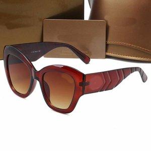 2021 الفاخرة المصمم النظارات الشمسية الكلاسيكية العلامة التجارية تصميم مربع أعلى جودة الأزياء نظارات الشمس الصيف نظارات للشمس للرجال والمرأة الاستقطاب uv400 مع مربع