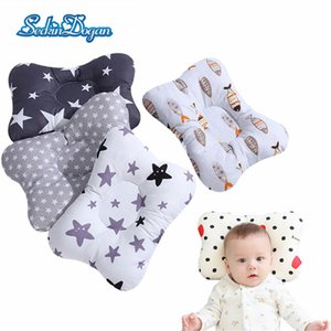 Brand Baby Pillow Sleep Support Concave Toddler Pillow Soft Cotton born Pillow Cushion Infant Nursing Styling