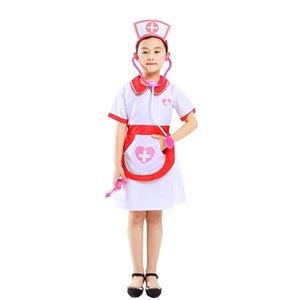 Halloween Costume children's doctor nurse kindergarten professional role play costume show