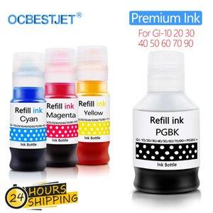 Ink Refill Kits Kit For Canon GI-10 20 30 40 PIXMA G6010 G5020 G6020 G7020 G5030 G6030 G5040 G6040 GM2010 GM2030 GM2040 Printer