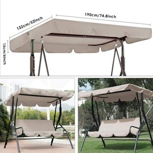 Seat Swing Canopies Cushion Cover Set Patio Chair Hammock Replacement Waterproof Garden YG Covers