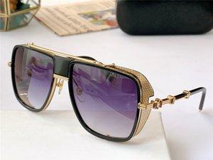 Sonnenbrille für Männer und Frauen Sommer Stil Anti-Ultraviolett Retro Runde Formplatte Full Frame Mode Brillen Zufallskiste 104