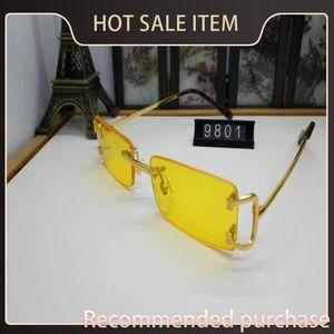 Retro Sports Glasses Eyeglasses Men Buffalo Horn Lunettes 2021 Sunglasses Glasses Vintage Mens Fashion For Metal Silver Gold Clear Riml Igcl