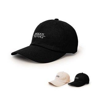 LDSLYJR 2021 Cotton fashion joker letter Casquette Baseball Cap Adjustable Snapback Hats for men and women 10