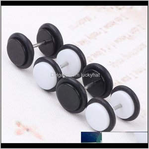 60Pcslot Cheater Ear Plugs Gauges Tapers Fashion Summer Style Men Women Fake Tunnels Body Piercing Jewelry Faux Septum Rings Icbyf Dblou
