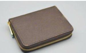 Продажа мужской бизнес короткий кошелек Mt кошелек карты модные сумки держатель высококачественный классический дизайнерский квадрат