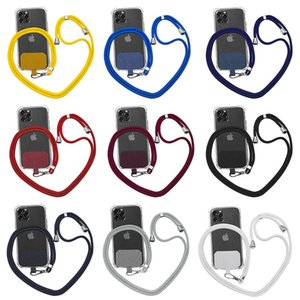 Universal Adjustable Mobile Phone Straps Neck Hanging Anti-lost String Rope Diagonal Harness Cards Lanyard 15.7 To 27.6 Inches