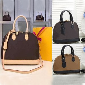 2021ss Women Luxurys Designers Shoulder Bags Alma Bb Fashion Lady Chain Messenger Bag Leather Handbags Shell Wallet Purse Ladies Cosmetic Crossbody Tote LOUISQV70