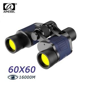 APEXEL Binoculars 60x60 Long Range 16000M HD Telescope Powerful Low light Night Vision For Tourist Camping
