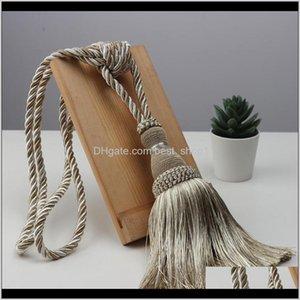 Kunst und Kunsthandwerk 1 PC Krawatte Single Strap Hohe Qualität Quaste Ball Vorhang Hängen H QYLQLN VBRUBR JDCOQ