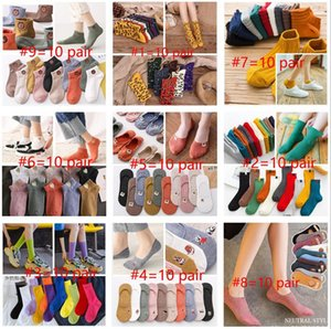 Casual Cartoon Women High Quality Cotton Animal Sock Spring Autumn Winter Warm for Lady Girls Art Socks Calcetines Mujer