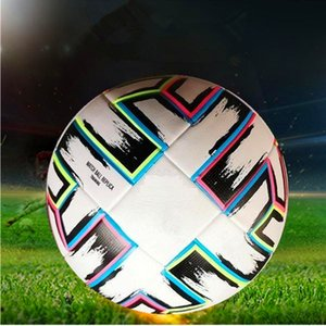 Top quality European Cup Soccer ball 2021 Final KYIV PU size 5 balls granules slip-resistant football high qualit Athletic Outdoor Accs