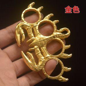 Scorpion gears 3 colors Survival bracelet orchid four fingers tiger key hanging martial arts lotus box breaking window hammer anti-body