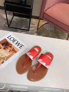 2021 latest beach summer shoes fashion slippers women 100% leather letter bathroom ladies 35-42 US4-11