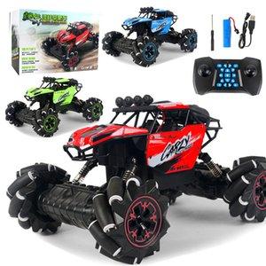 116 RC Car 2.4GHz 4WD sideway drift Rc Car Off-road Music Remote Control Car Stunt Drift Climbing Toys for Children Gifts