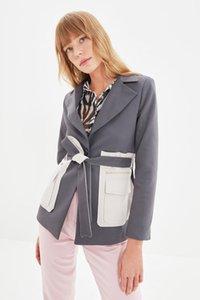 Women's Jackets Trendyol Lacing Detailed Jacket TWOAW22CE0361